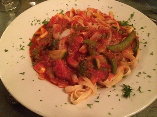 Casa Rustica: Create Your Own Pasta, Primavera w/shrimp.