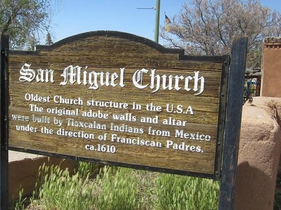 San Miguel Chapel : Definitely go here if you find yourself in Santa Fe