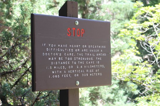 Timpanogos Cave National Monument: stop