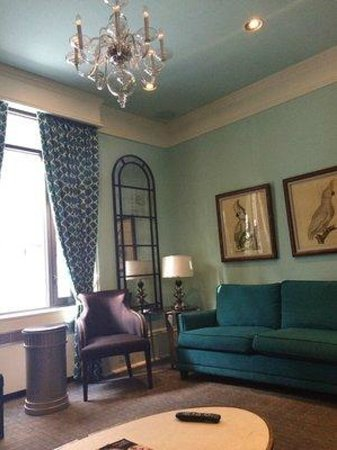 Seton Hotel: Seating area
