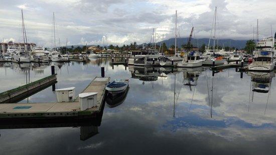Marina - where the office of Vallarta Adventures is located
