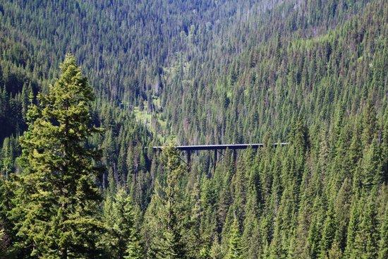 Hiawatha Mountain Bike Trail: One of Many Trestles to Cross on the Hiawatha Trail