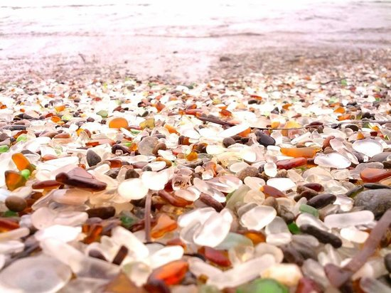 Glass Beach beauties