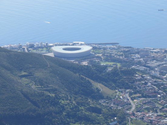 Table Mountain Aerial Cableway: The  World Cup Stadium