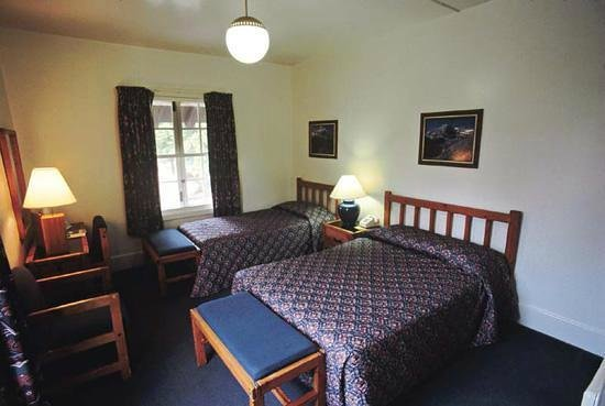 Lake McDonald Lodge : This is the photo of the room that was on my reservation.  I did NOT get this room.