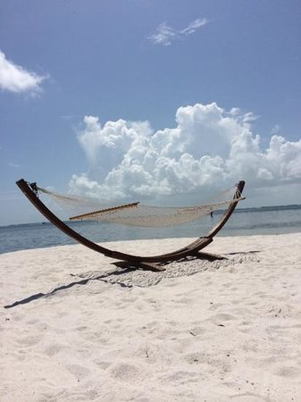 Little Palm Island Resort & Spa, A Noble House Resort: beach hammock