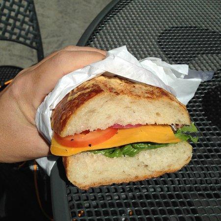 Boudin's Bakery & Cafe: Sandwich