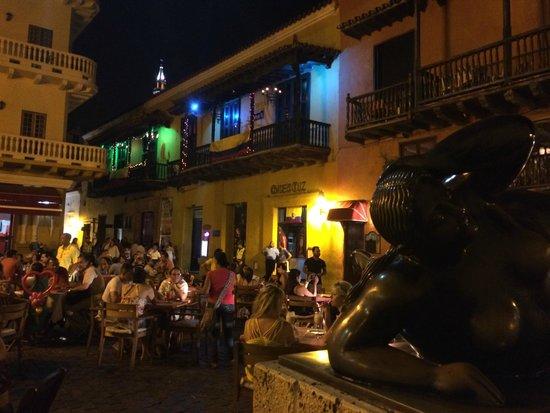 Plaza Santo Domingo: la place