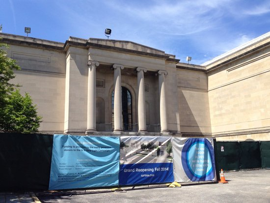 Baltimore Museum of Art: Under renovation. Reopen in fall 2914