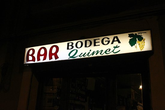 Bar Bodega Quimet