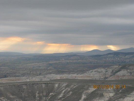Cappadocia Voyager Balloons: View from Cappadocia Voyager Balloon
