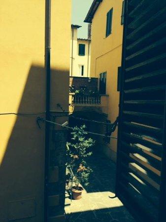 Albergo San Martino: scorcio dalla stanza 'Nuccia'