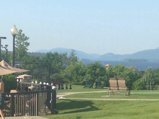 Holiday Inn Resort Lake George: View from my patio with a little zoom.