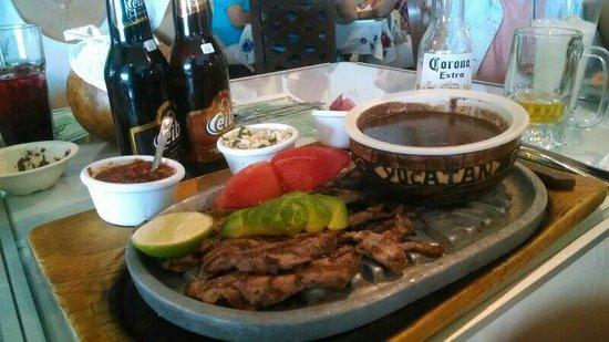 La Chaya Maya: Poc-chuc riquísimo!!!