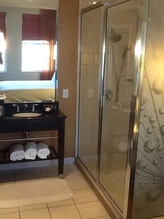 Glenn Hotel, Autograph Collection: Cute open bathroom