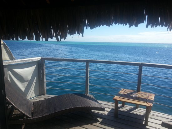 Manava Beach Resort & Spa - Moorea : view from our deck