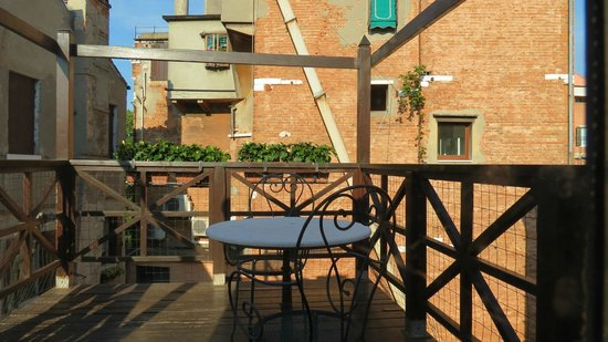 Hotel Campiello: Terraza privada