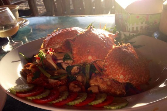 Beyond Resort Khaolak: Crab at Mamas