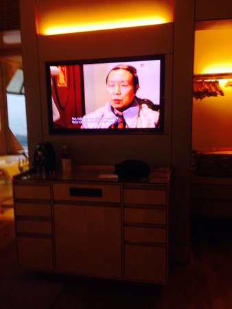 The Ritz-Carlton, Millenia Singapore: テレビ、埋め込み式です。
