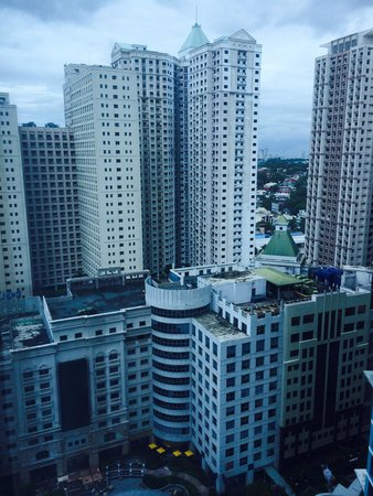 Eastwood City : View from above.