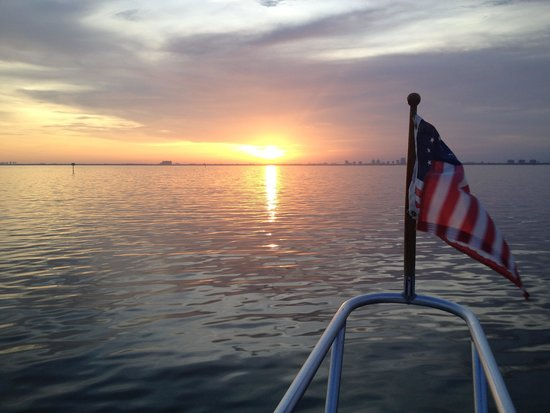 Happy Cruises: Sunset cruise in early July