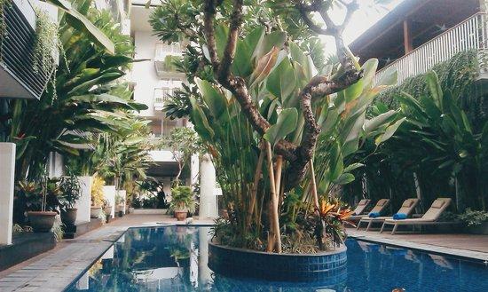 EDEN Hotel Kuta Bali - Managed by Tauzia: cozy pool to relax :)