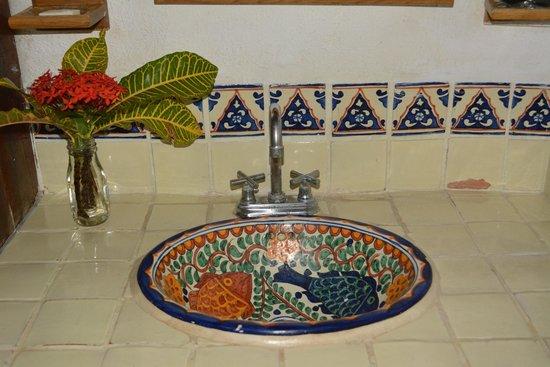 Hotel Villas Delfines: the sink