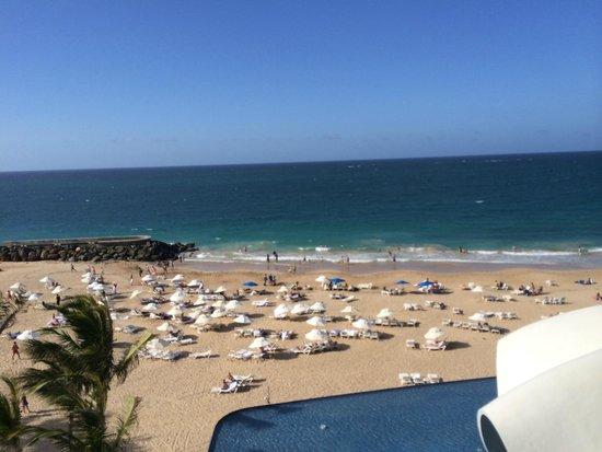 La Concha Resort: A Renaissance Hotel: View from Room of OCean/Beach