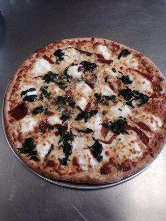 Chef's Corner in Melbourne Beach Market: Creek pizza !!!