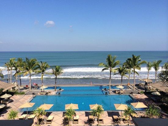 The Legian Bali : the suite view
