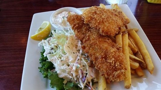 Doc's Marina Grill: Great Fish'n Chips