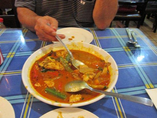 Wok N Pan : 白身魚のカレー