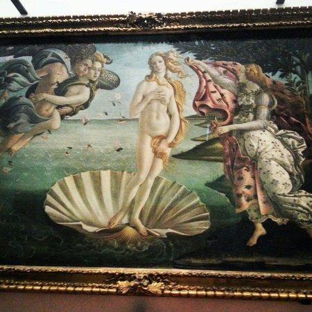 Galerie des Offices : Birth of Venus