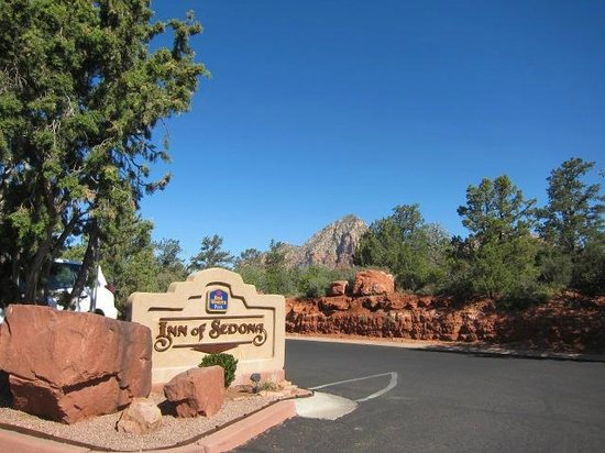Best Western Plus Inn of Sedona: 看板も素敵