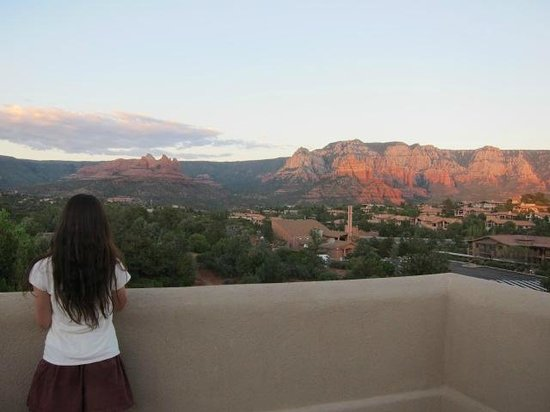 Best Western Plus Inn of Sedona: バルコニーからの景色