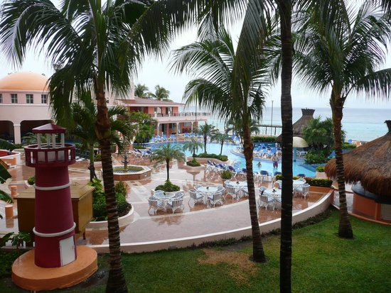 El Cozumeleno Beach Resort : view from the room