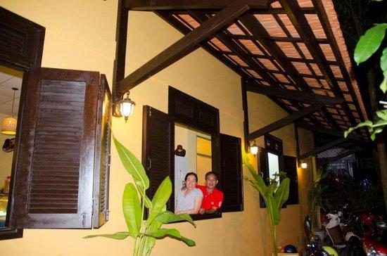 Buddy Ice Cream & Info Cafe : Friendly Staff