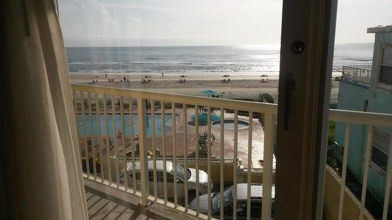 Best Western Daytona Inn Seabreeze : Balcony View