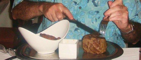 Temptation: Steak & plantains