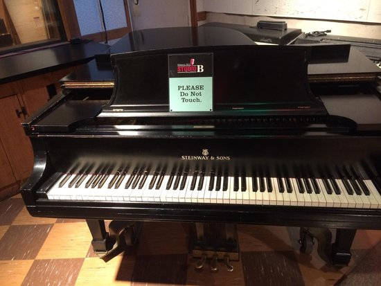 RCA Studio B: The piano that was used in all recordings