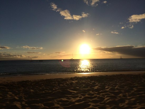 The Westin Maui Resort & Spa: Sunset from beach