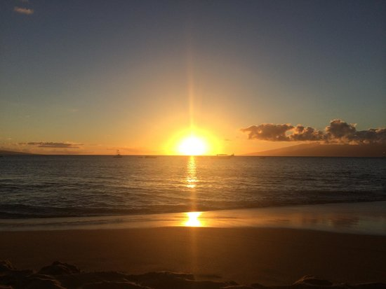 The Westin Maui Resort & Spa: Sunset from the beach