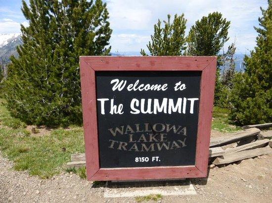 Wallowa Lake Tramway: Welcome