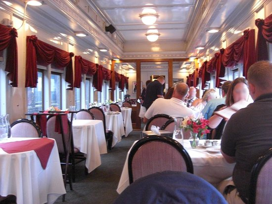 Essex clipper dinner train reviews