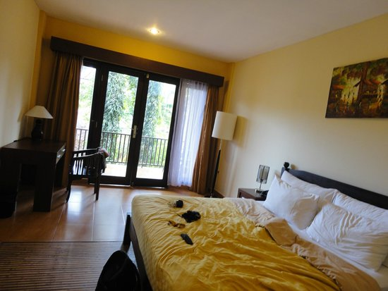 Sunset House Lombok: A very spacious standard room