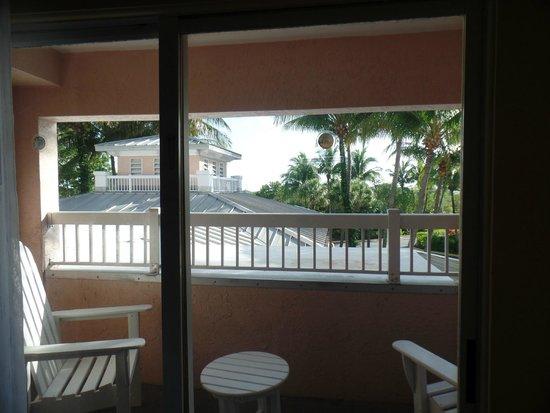 """DoubleTree by Hilton Hotel Grand Key Resort - Key West: """"Vista"""" da sacada do quarto"""