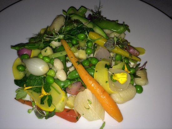 Persimmon Restaurant: Vegetarian entree- an extraordinary dish.