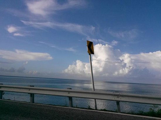 The Overseas Highway : leaving the keys is painful