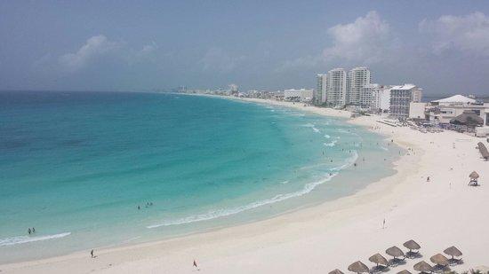 Krystal Grand Punta Cancun: Esta hermosa vista sólo en el Grand Krystal Punta Cancun