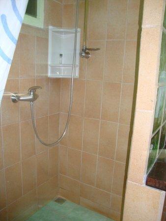 La Casa de las Flores Hotel : Shower